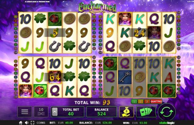 Encharmed Quattro screenshot