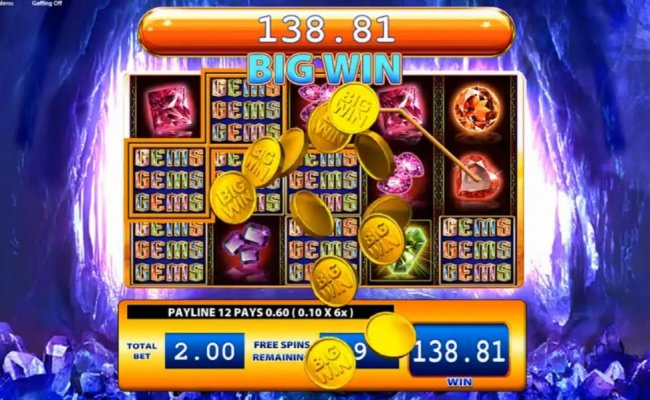 Gems Gems Gems by Free Slots 247