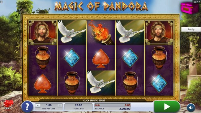Magic of Pandora screenshot