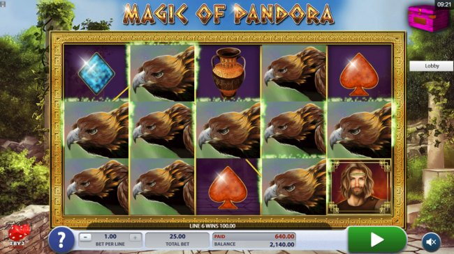 Free Slots 247 image of Magic of Pandora