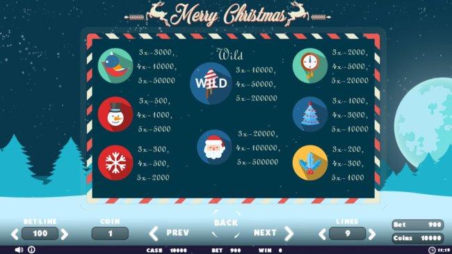 Merry Christmas screenshot