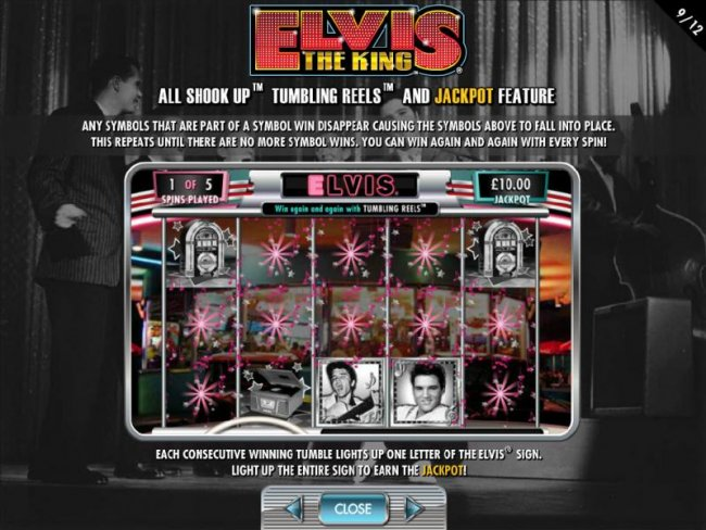 All Shook Up - Tumbling Reels and Jackpot Feature by Free Slots 247