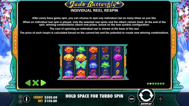 Free Slots 247 image of Jade Butterfly
