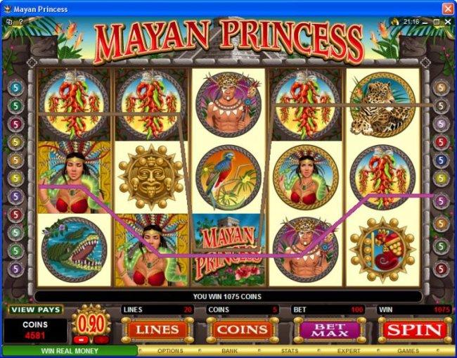Mayan Princess screenshot