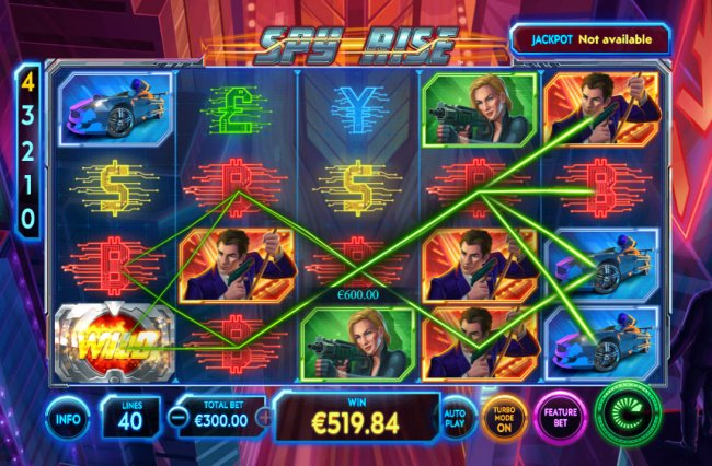 Free Slots 247 image of Spy Rise