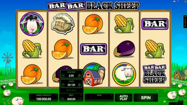 Free Slots 247 image of Bar Bar Black Sheep 5 Reels
