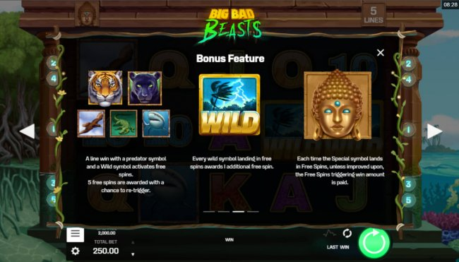Big Bad Beast by Free Slots 247