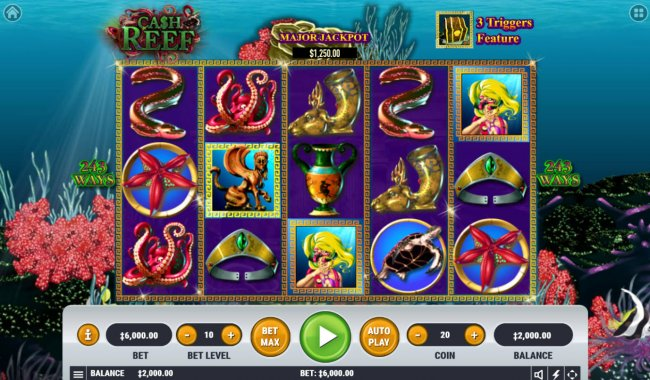 Cash Reef by Free Slots 247
