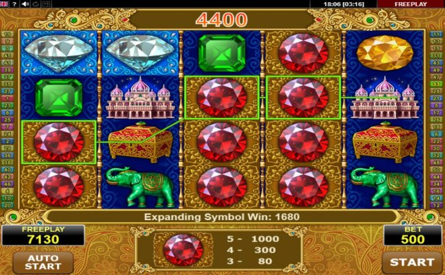 Free Slots 247 - Expanding symbol triggers a big win during the free games feature