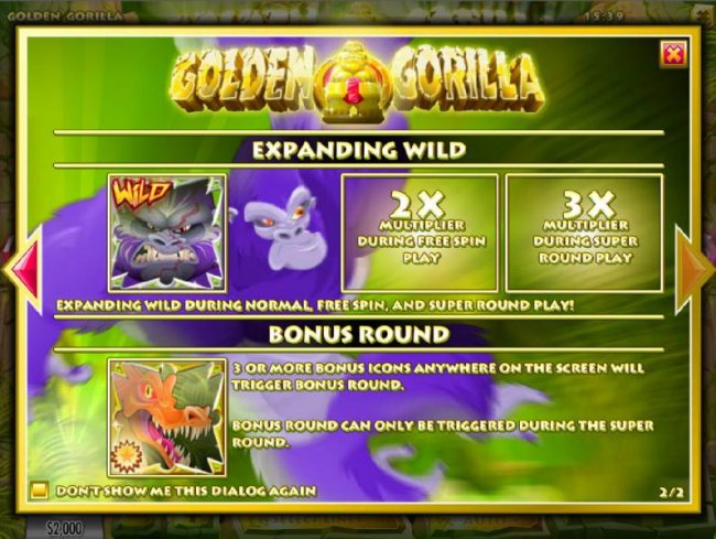 Free Slots 247 image of Golden Gorilla