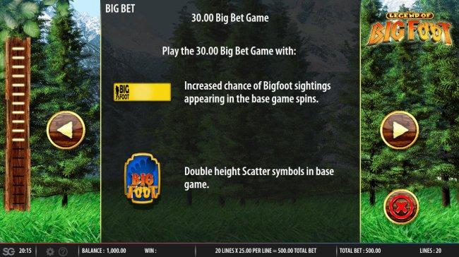 Big Bet Rules - Free Slots 247