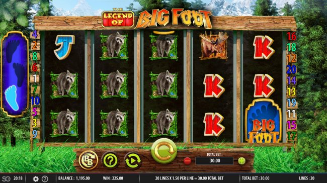 The Legend of Big Foot screenshot