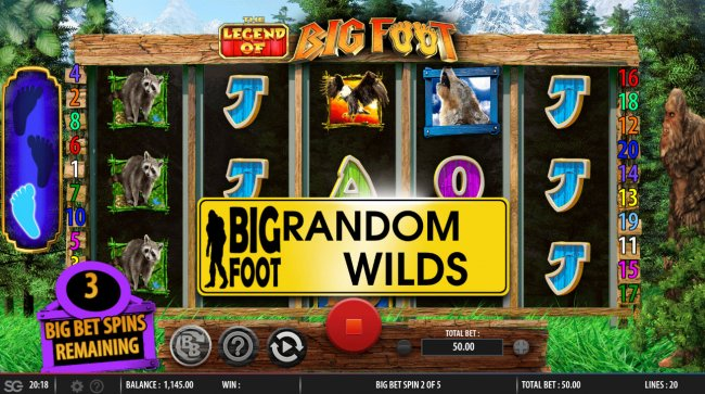 Free Slots 247 image of The Legend of Big Foot