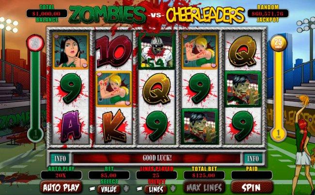 Images of Zombies vs Cheerleaders
