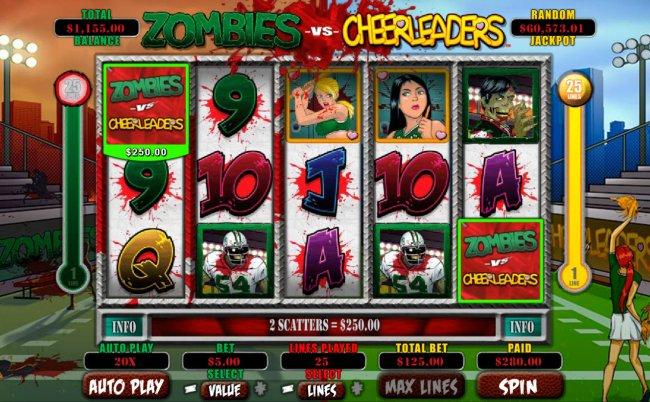Free Slots 247 image of Zombies vs Cheerleaders
