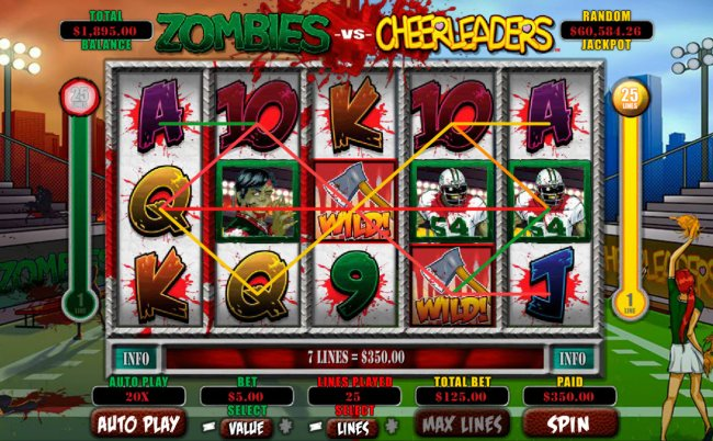 Zombies vs Cheerleaders screenshot