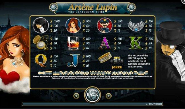 Arsene Lupin screenshot