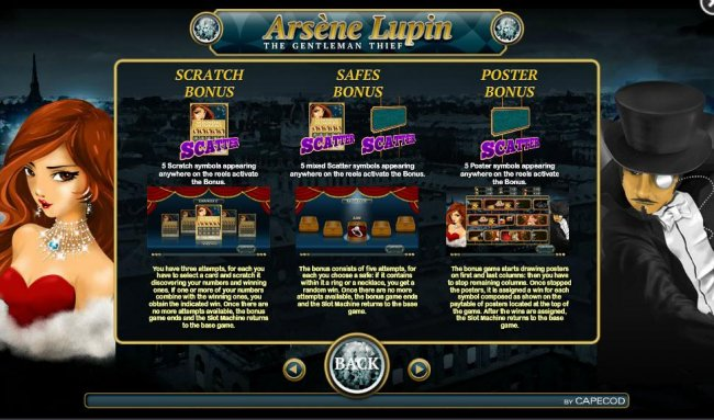 Images of Arsene Lupin