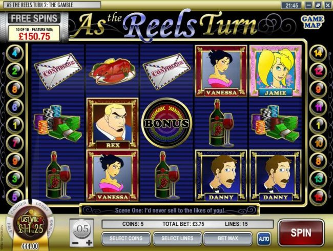 Free Slots 247 image of As the Reels Turn # 2: The Gamble