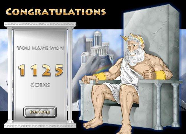 Coins of Olympus screenshot