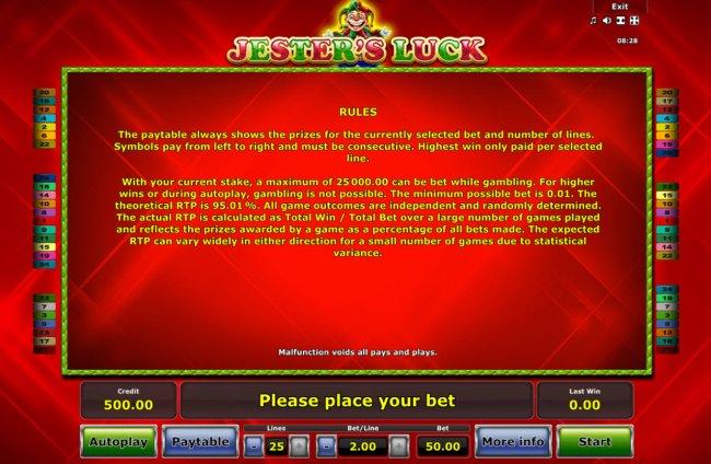 Spiele JesterS Luck - Video Slots Online