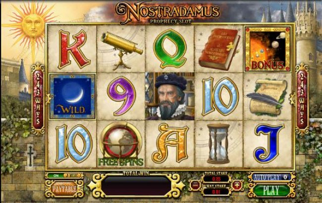 Free Slots 247 image of Nostradamus Prophecy Slot