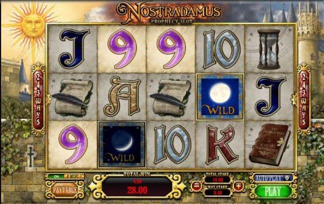 Images of Nostradamus Prophecy Slot