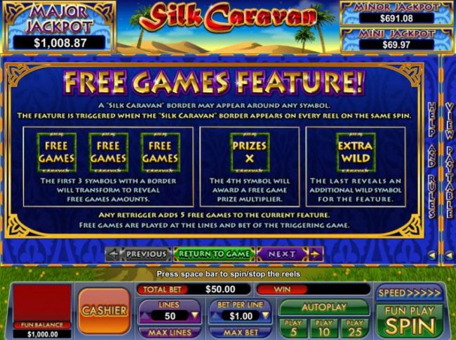 free games feature rules - Free Slots 247