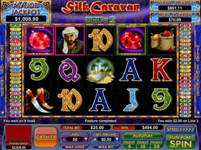 Free Slots 247 - 14 free games awarded