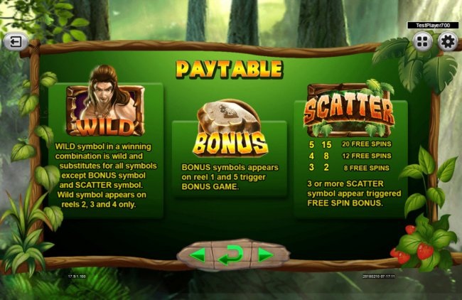 Free Slots 247 image of The Tarzan