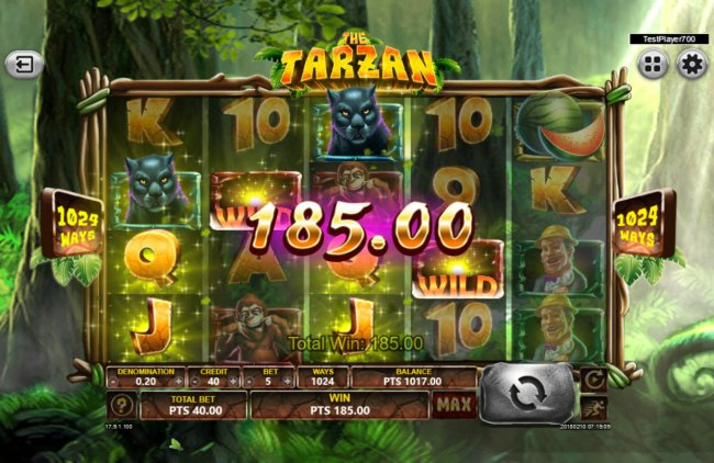 The Tarzan screenshot