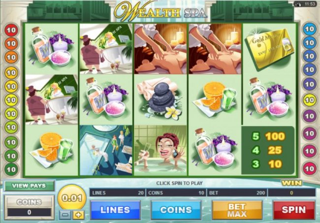 Wealth Spa by Free Slots 247