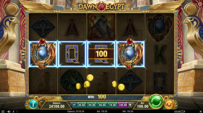 Dawn of Egypt by Free Slots 247