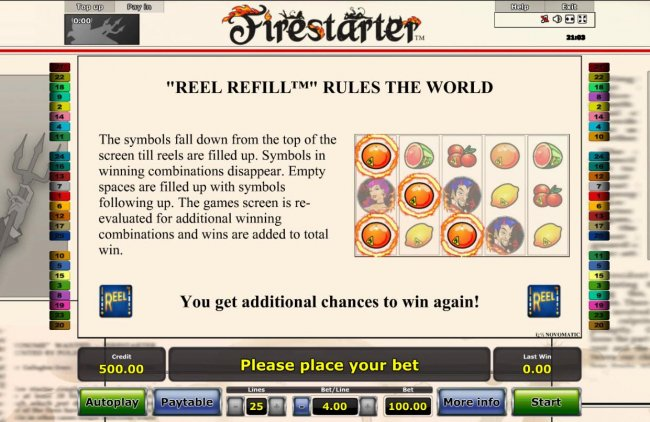 Firestarter screenshot