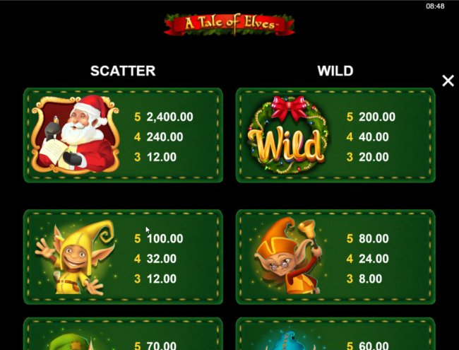 Free Slots 247 image of A Tale of Elves