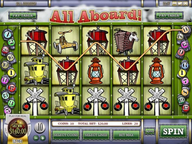 All Aboard by Free Slots 247