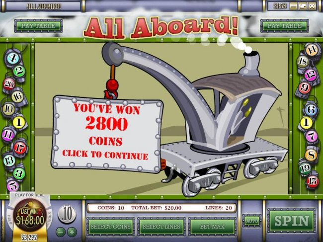 you've won 2800 coins - Free Slots 247