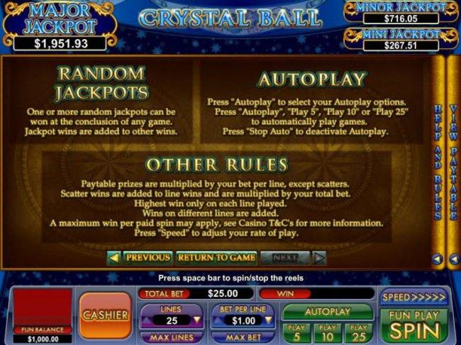 Free Slots 247 image of Crystal Ball