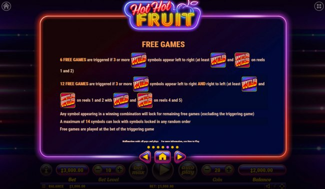 Hot Hot Fruit by Free Slots 247
