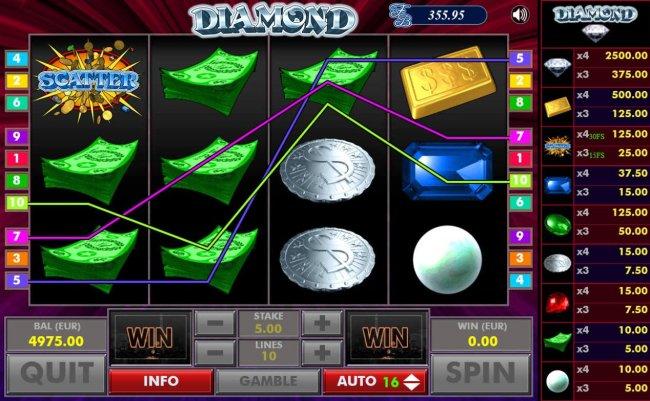 Diamond screenshot