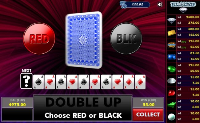 Free Slots 247 - Gamble Feature - To gamble any win press Gamble then select Red or Black