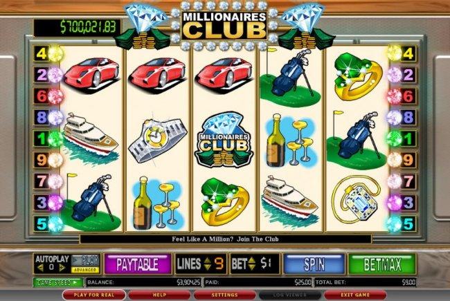 Millionaires Club II screenshot