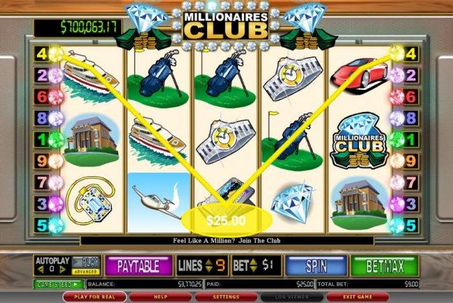 Free Slots 247 image of Millionaires Club II