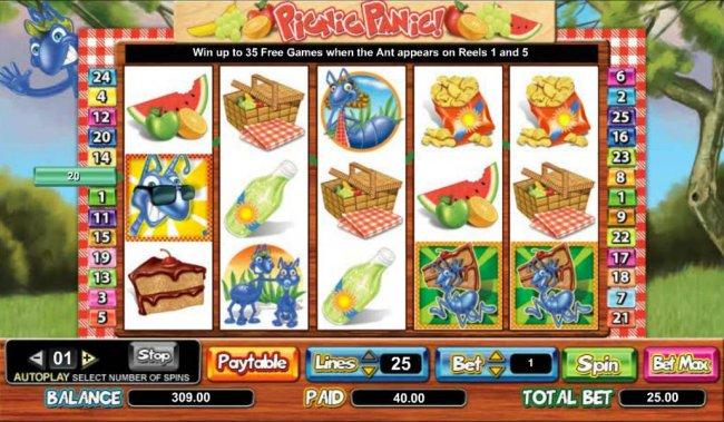 Free Slots 247 image of Picnic Panic