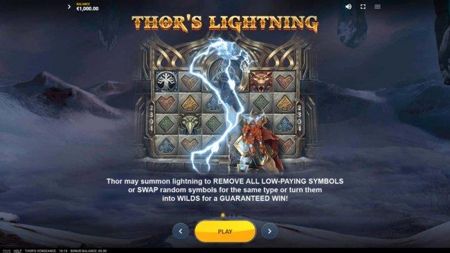 Thor's Vengeance screenshot