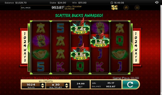 Free Slots 247 image of Lucky Rooster