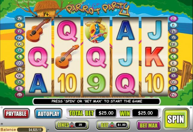 Free Slots 247 image of Parrot Party