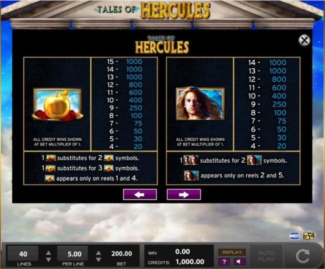 Free Slots 247 image of Tales of Hercules