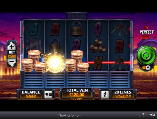 The Perfect Heist by Free Slots 247