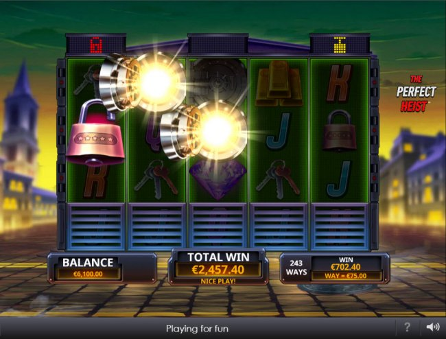 Free Slots 247 image of The Perfect Heist
